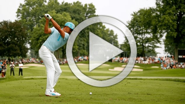 Rickie Fowler swing changes for more speed in golf