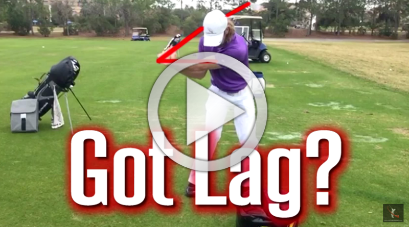 easy way to get more lag in the golf swing