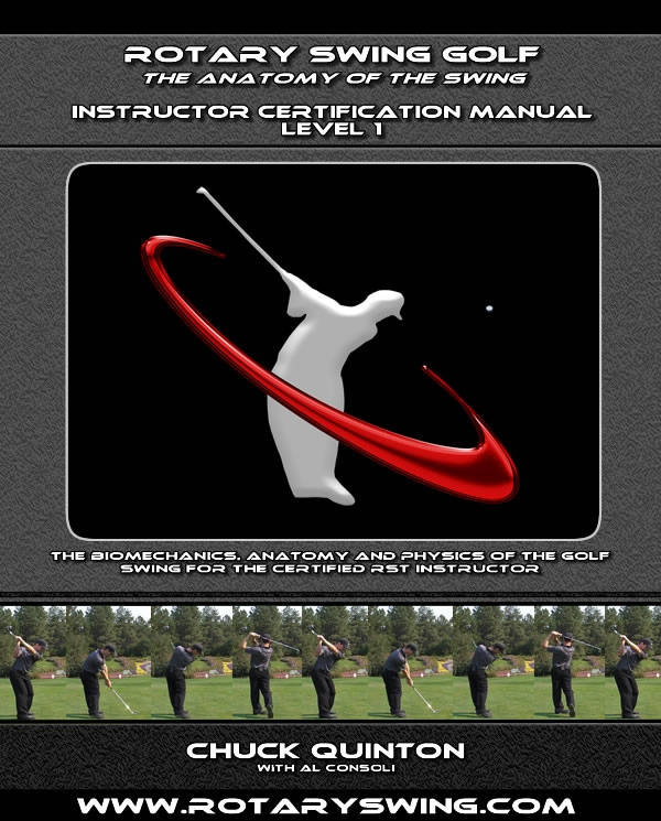 Rotary Swing book by Chuck Quinton