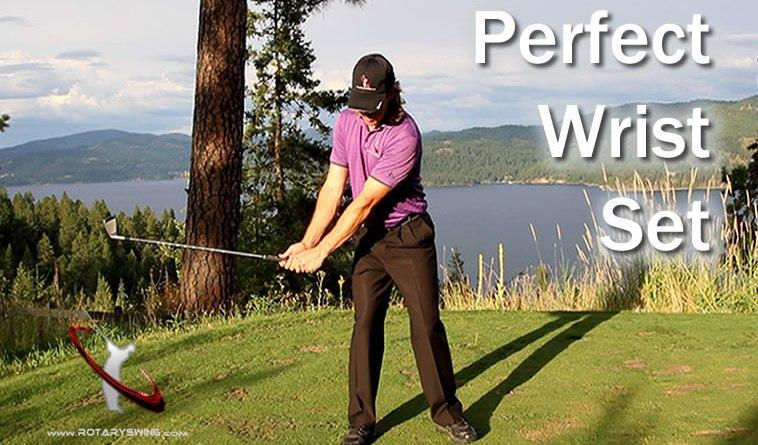 wrist set golf swing