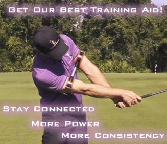 golf backswing training aid