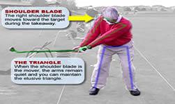 proper golf takeaway