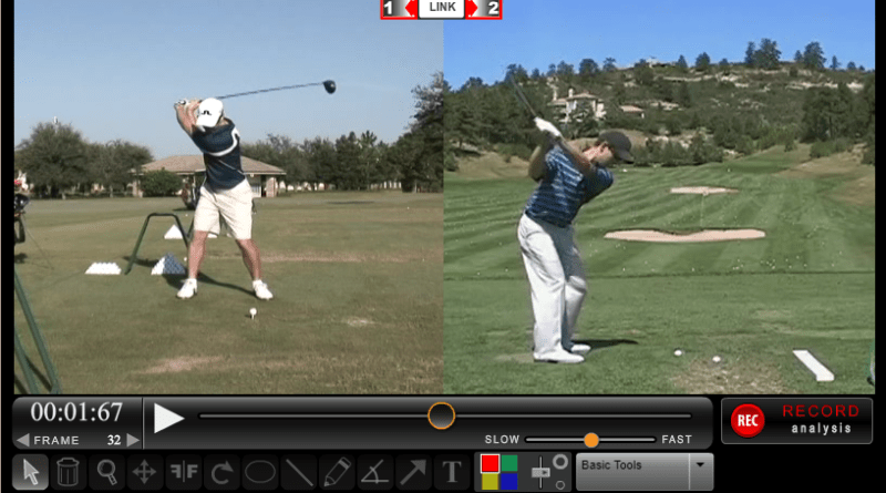 golf swing analysis software