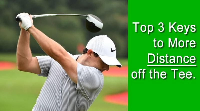 top 3 driver distance keys