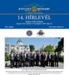 Rotary Club Szolnok hírlevelének címlapja