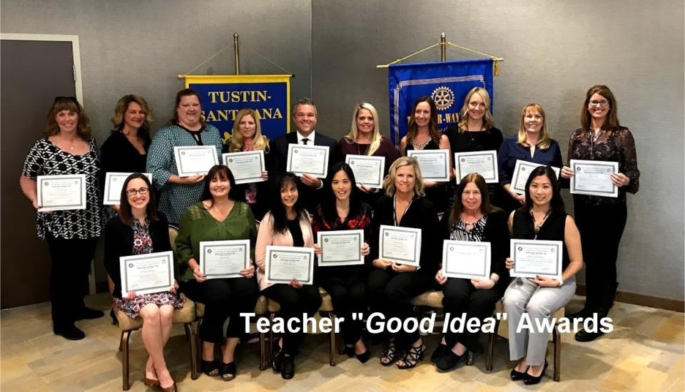 teach good idea awards