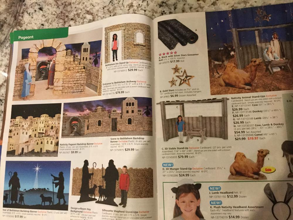 Oriental Trading Faith Catalog