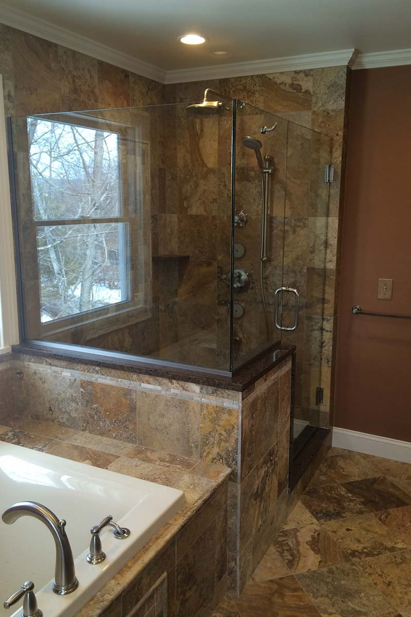 Small  Elegant Bathroom Renovation  Rotella Kitchen  Bath