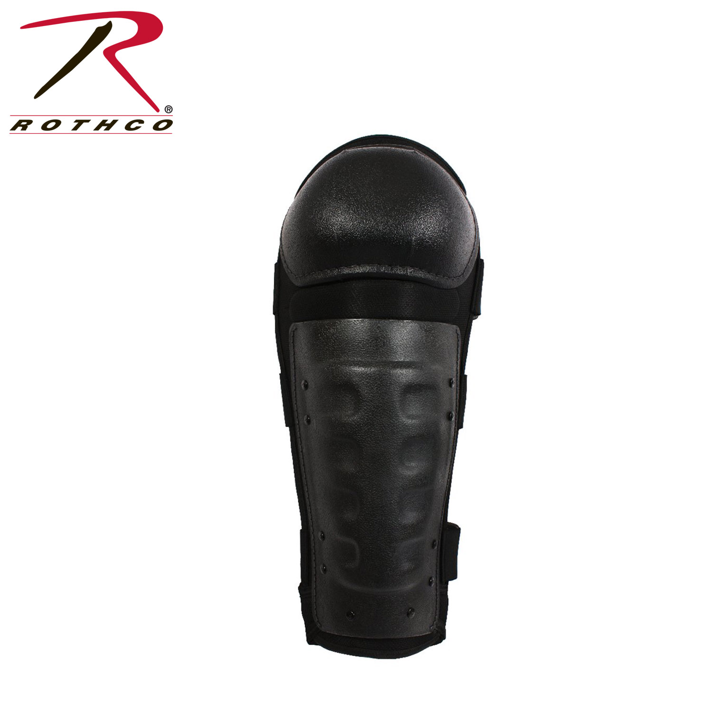 Rothco Hard Shell Shin Guards / Black