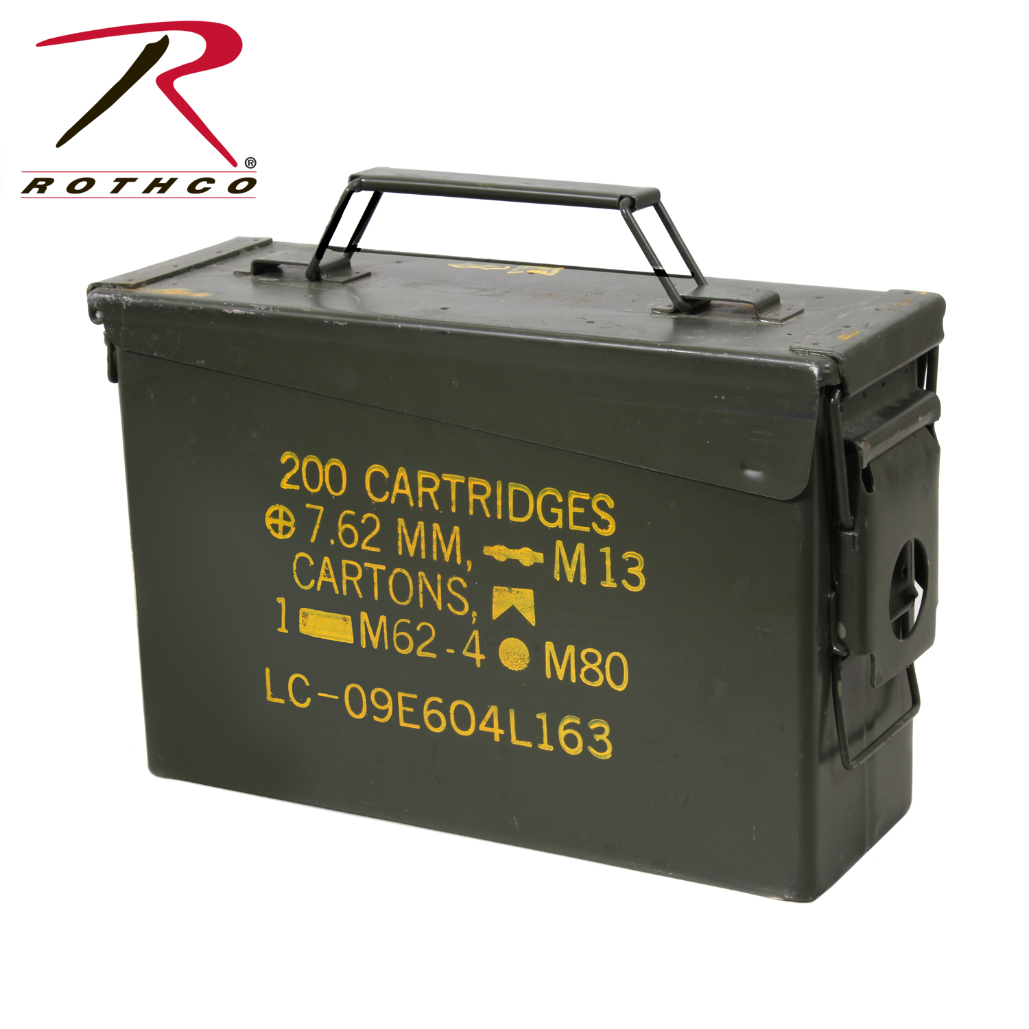 Dimensions Army Ammo Can