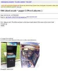 Pepper II Arcade Game Indianapolis Craigslist | Rotheblog ...