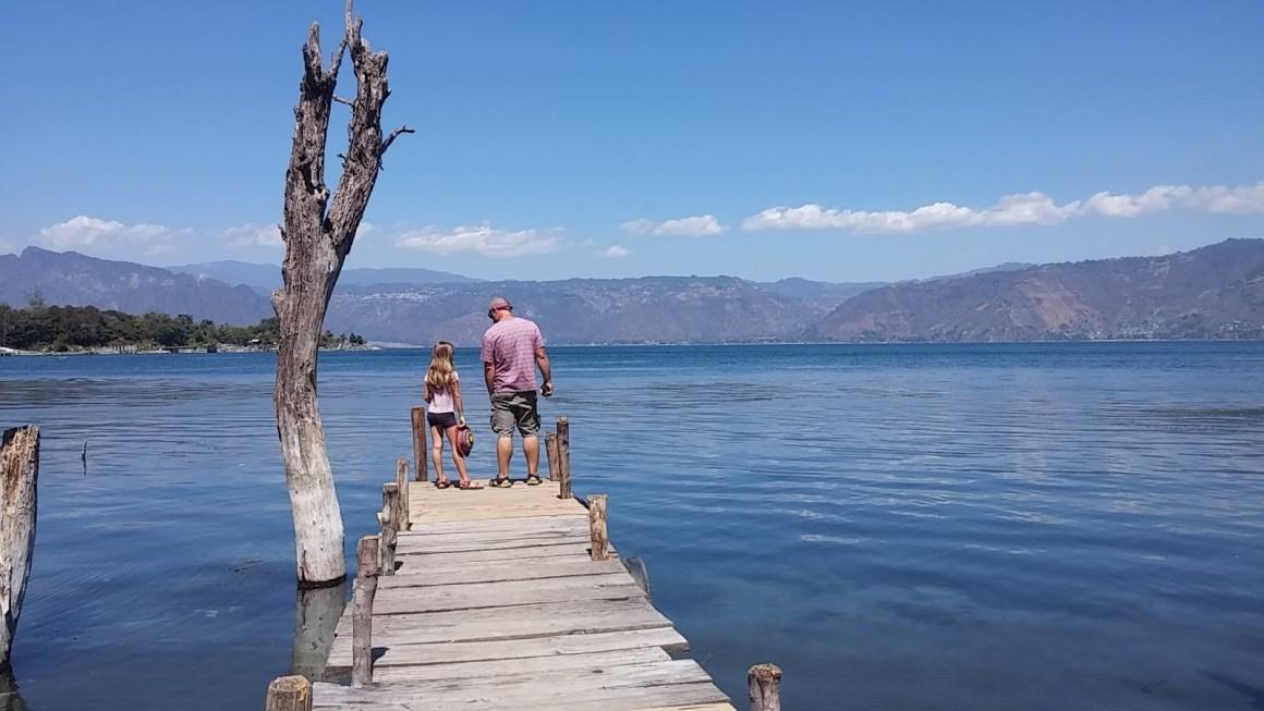 טיול משפחתי בגוואטמלה – אגם אטיטלן Atitlan