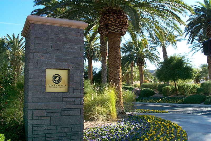 MacDonald Highland Community in Las Vegas