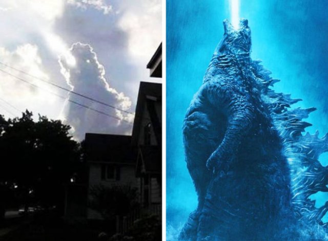 Fotos de coincidências incríveis