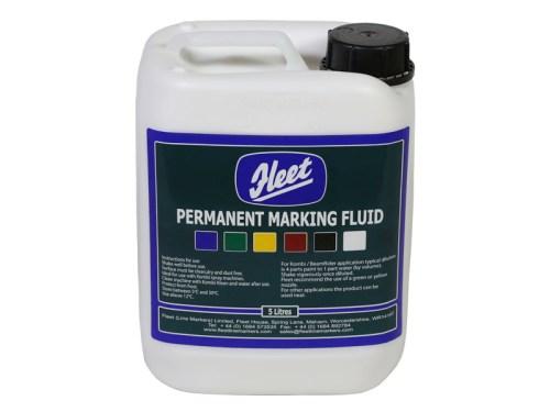 Fleet Permanent Marking Fluid White