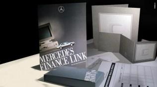 Materiale prodotto finanziario Mercedes Finance Link - MERFINA Mercedes Benz Finanziaria - Produzione video, brochure, catalogo prodotto, inviti- Campagna Istituzionale Lancio Nazonale Classe C - Mailing lIst, Inviti, Promotional, Test drive , allestimento pdv,
