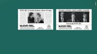 Campagna istituzionali Mercedes Concessionario Area promozione Servizi di vendita e assistenza - Stampa, Radio, Affissione Special Event