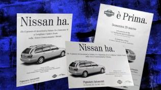 Campagna Nissan Istituzionale Nuova Primera Station Wagon -Stampa quotidiana e affissione
