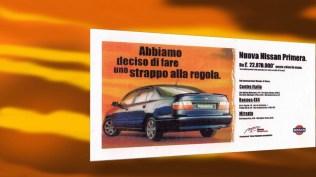 Campagna: Rottamazione Nissan - Affissione Stampa quotidiana - Specializzata- Radio