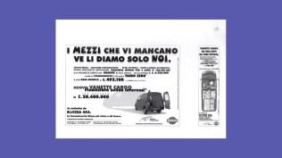 Campagna mezzi commerciali Nissan - Promozione modello e incentivi