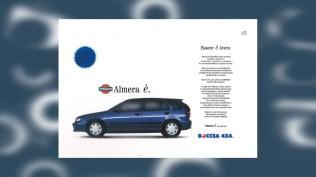 Campagna Nissan Almera e ricambi originali - Promotional - Stampa quotdiana - Periodica -