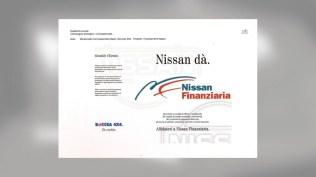 Campagna Nissan Finanziaria - Promotional - Stampa -