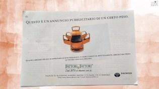 Campagna stampa prodotto Matiz Daewoo- Quattroruote soggetto 3
