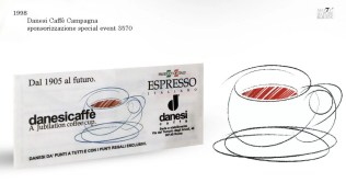 Campagna Danesi Caffè. sponsorship evento XXX radiotaxi 3570
