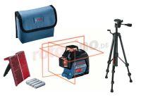 Set: Linienlaser mit Stativ Bosch GLL 3-80