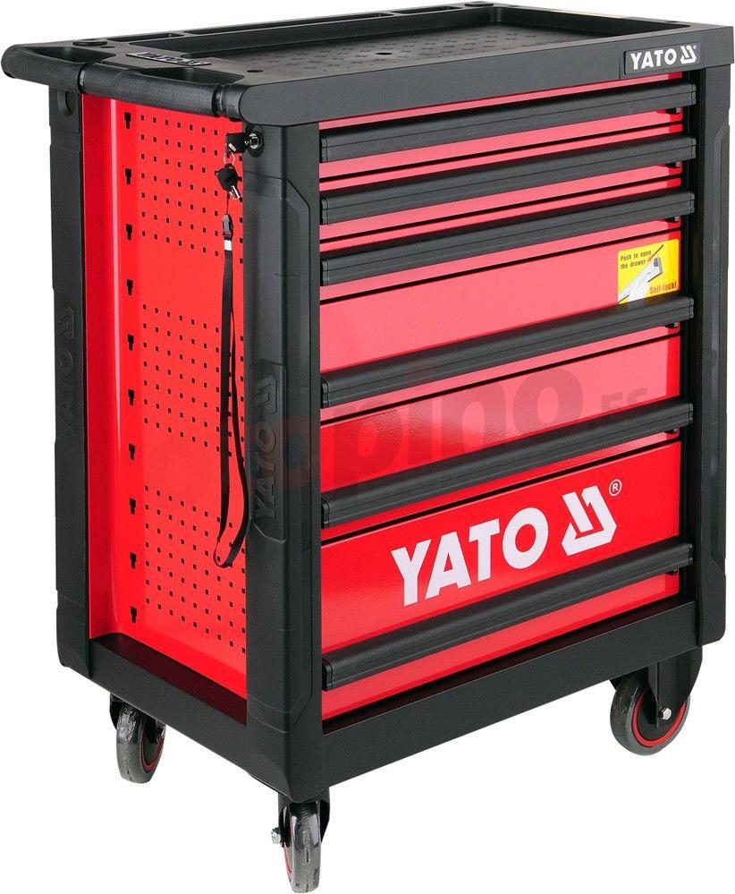 Armario de taller con herramientas Yato YT5530