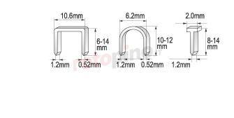 Graffatrice 6-14 mm /1,2/ Yato YT-7000
