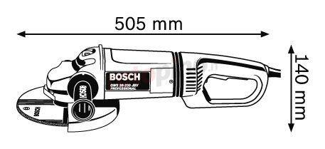 Smerigliatrice angolare Bosch GWS 26-230 JBV