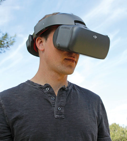 Drone Product Review: DJI Racing Edition Goggles