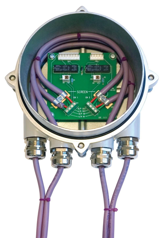 medium resolution of rotork introduces bumpless profibus highway termination module