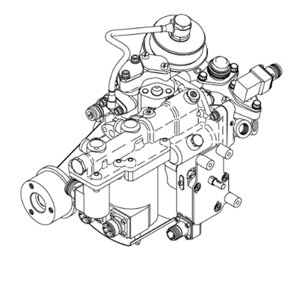 Pump And Metering Valve Assy Adjusted Pn