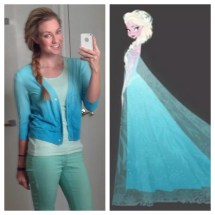 'frozen' In Everyday Life - Makeup Outfits Crafts &