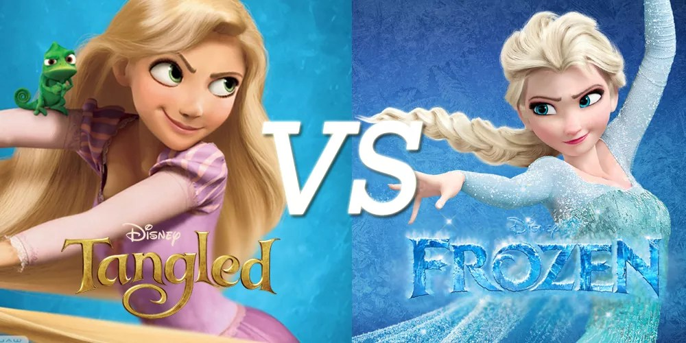 tangled vs frozen which