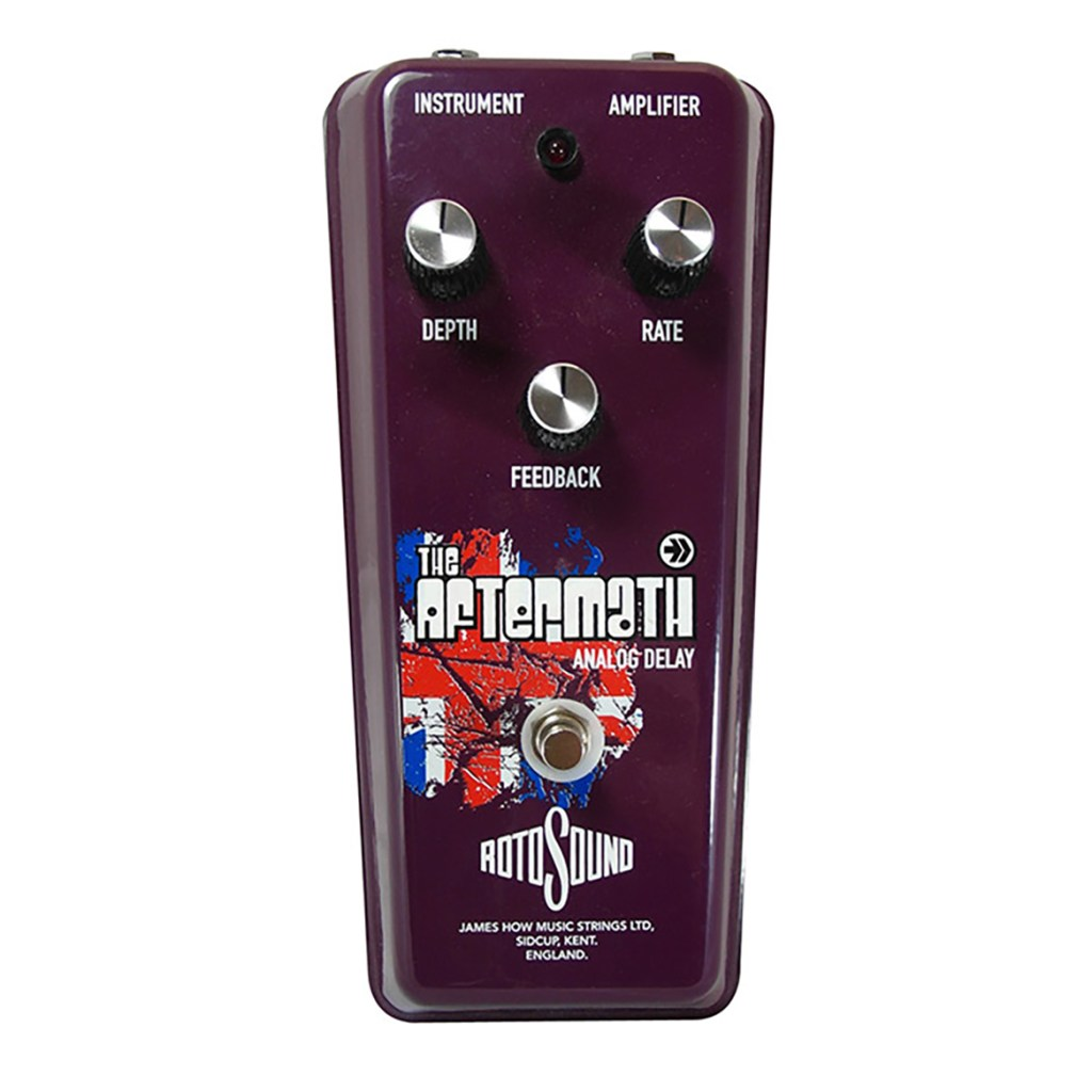 Rotosound Aftermath Analog Delay effects pedal
