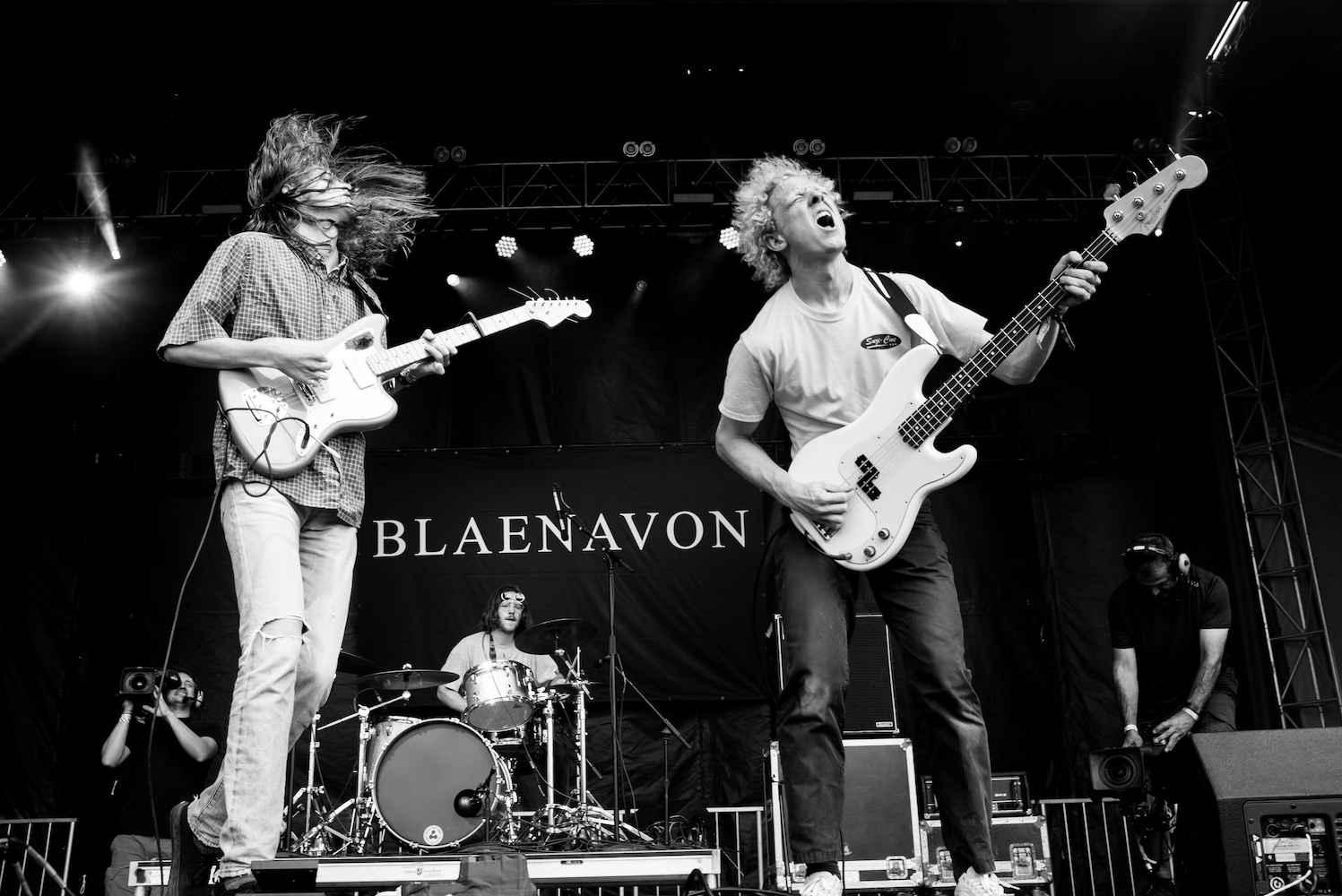 Blaenavon band Rotosound strings Scott Witt