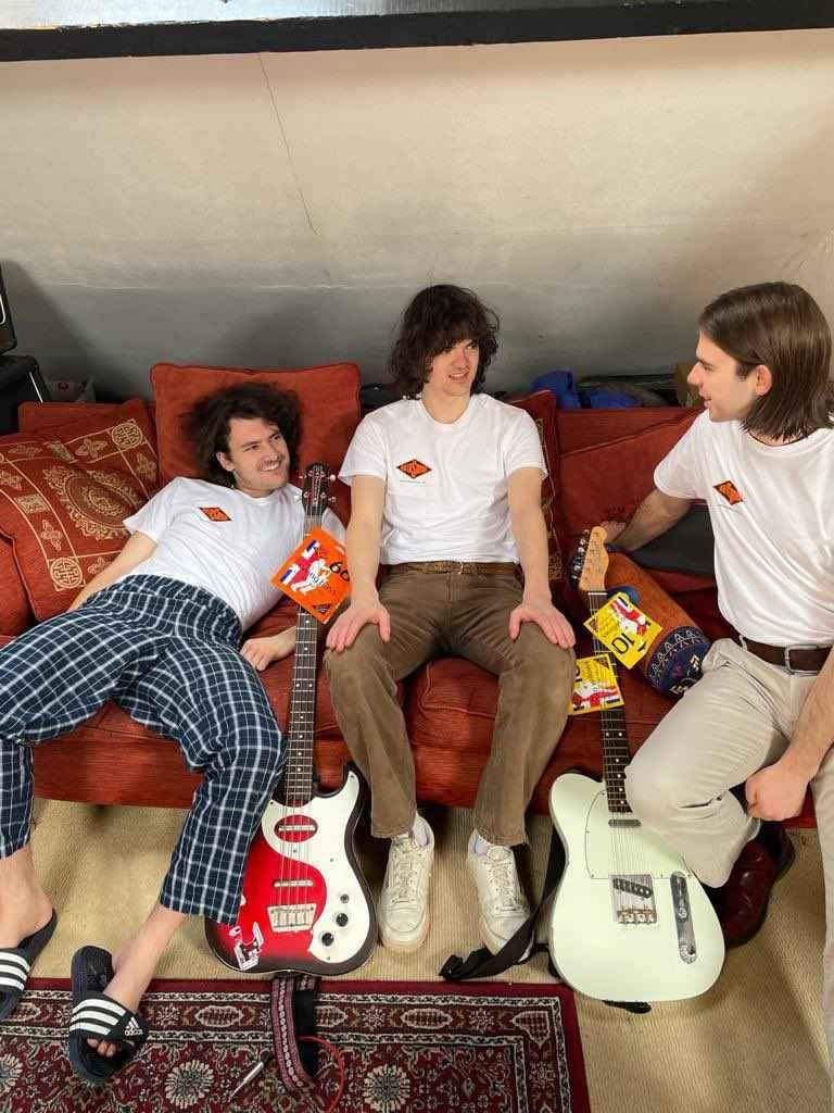 FEET band with Rotosound t-shirts