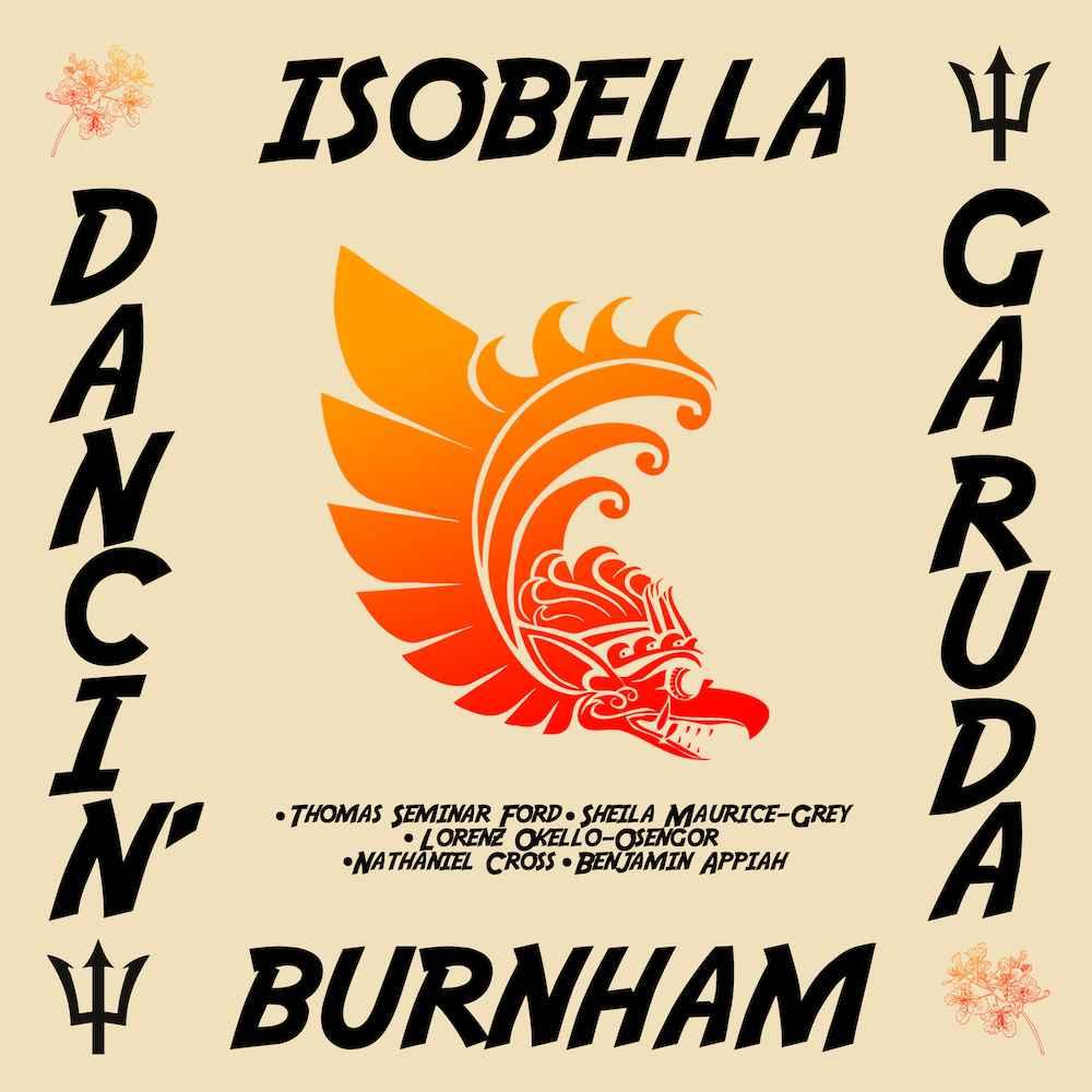 Dancin' Garuda Isobella Burnham EP cover artwork
