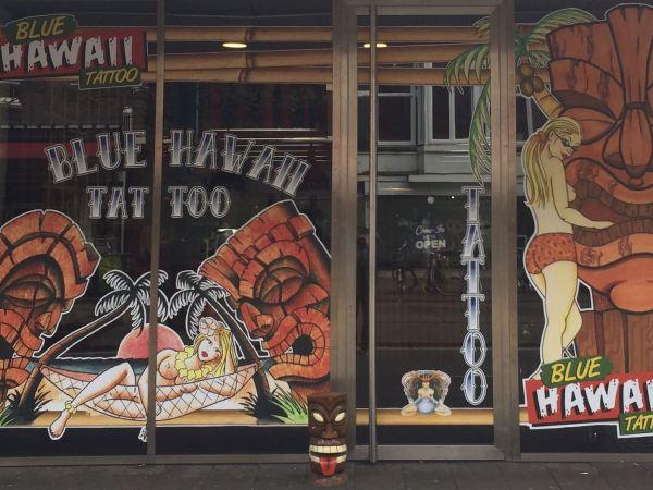 Blue Hawaii Tattoo Opening Party - 21 mei 2017 - Rotown, Rotterdam
