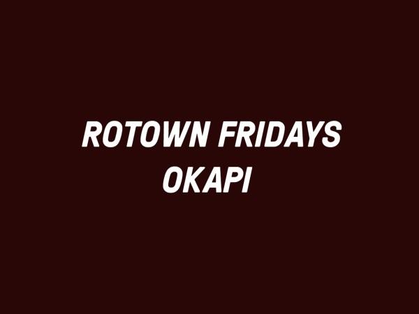 Rotown Fridays okapi