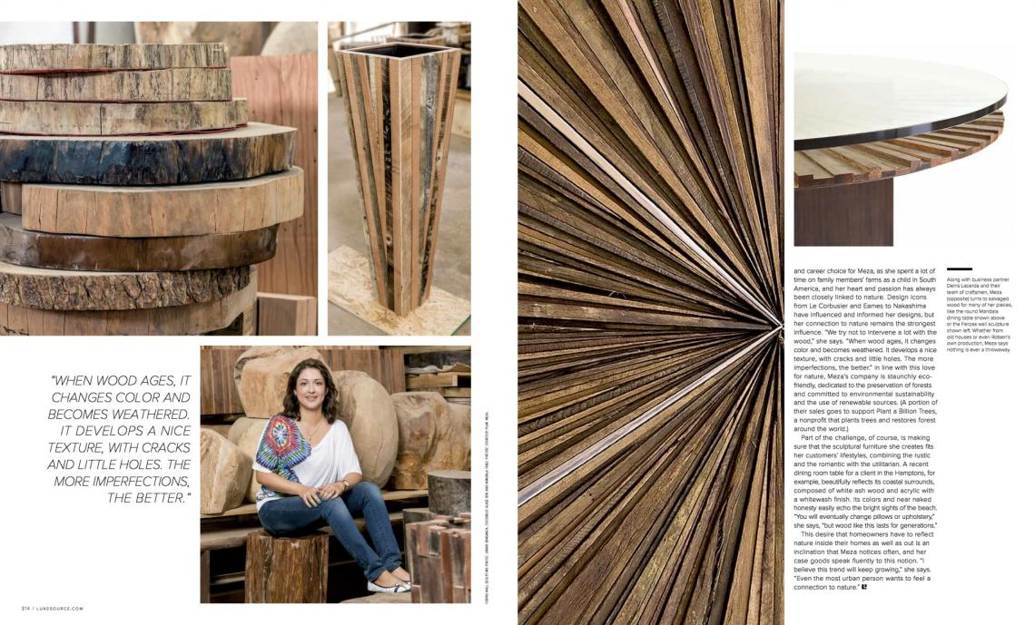 Miami design Magazine - Rotsen Furniture