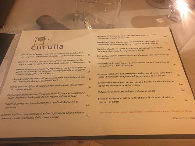 cuculia-menu