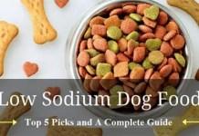 sodium dog food