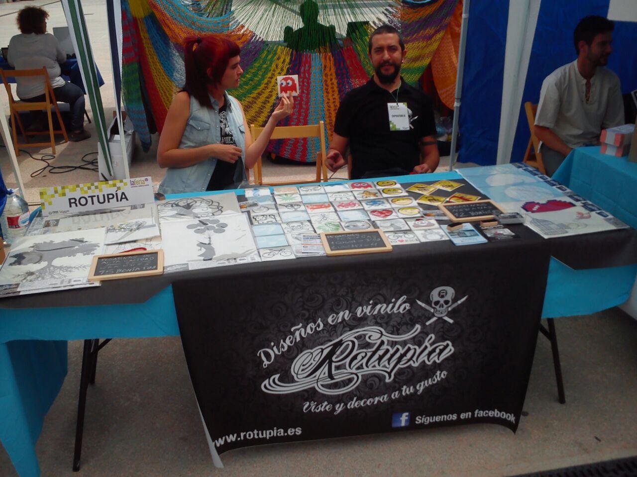 En la Feria de la Economía Solidaria