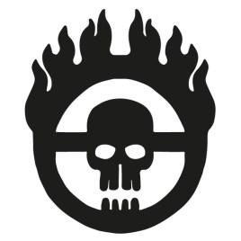 Mad Max emblema calavera
