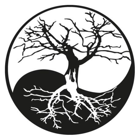 arbol yin yang