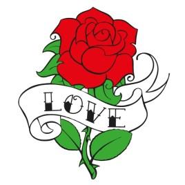 Rosa tatuaje